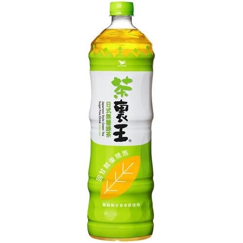 統一 茶裏王日式無糖綠茶(1250ml/瓶)