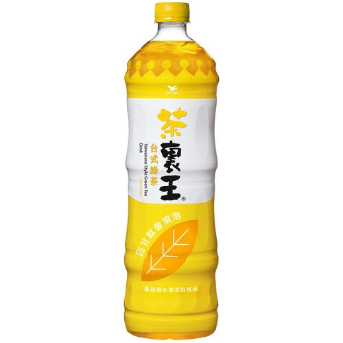 統一 茶裏王台式綠茶(1250ml/瓶)