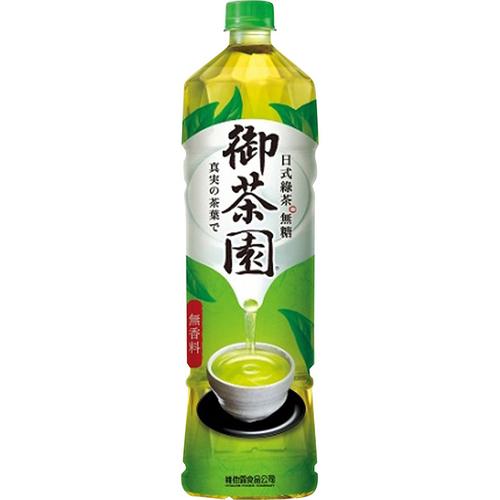 御茶園 日式綠茶-無糖(1250ml/瓶)