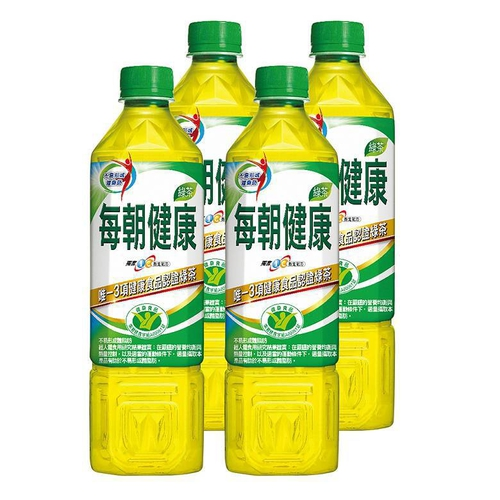 御茶園 每朝健康綠茶(650ml*4瓶/組)