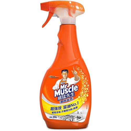 威猛先生 廚房清潔劑超強效噴槍(500g/瓶)