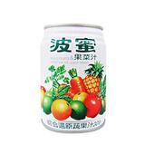 《波蜜》果菜汁(240ml*24罐/箱)