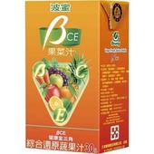《波蜜》果菜汁BCE(250ml*24包/箱)