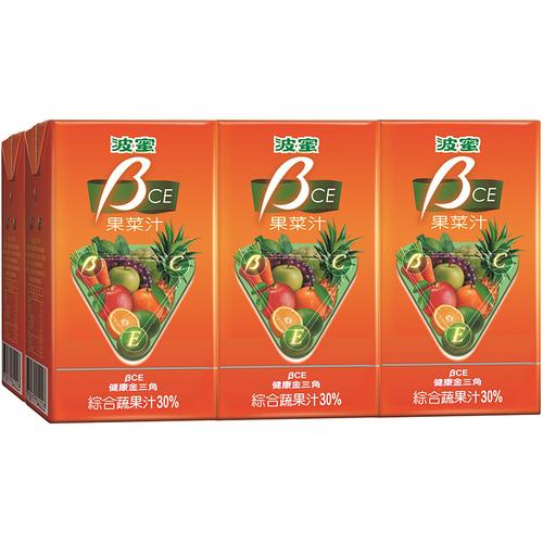 波蜜 果菜汁BCE(250ml*6包/組)