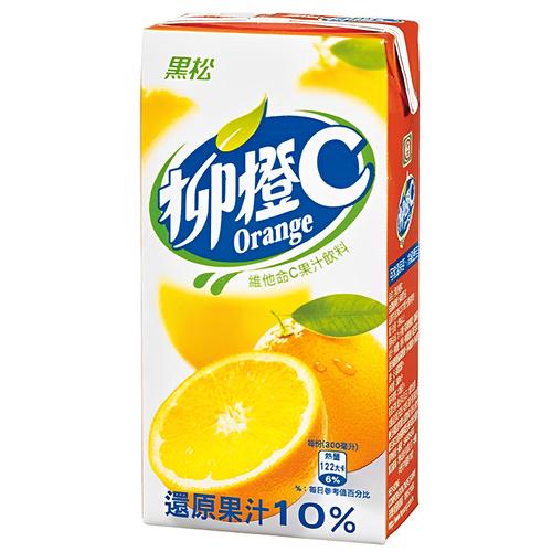黑松 柳橙C(300ml*24包/箱)
