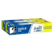 《黑人》全亮白牙膏-青檸薄荷(140g*2條)黑人全系列滿249送收納袋*1
