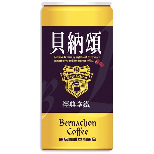 《味全》貝納頌經典拿鐵咖啡(210ml*6瓶/組)