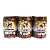 《金車》伯朗咖啡(240ml*6罐/組)