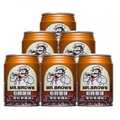 《金車》伯朗曼特寧咖啡(240ml*6罐/組)