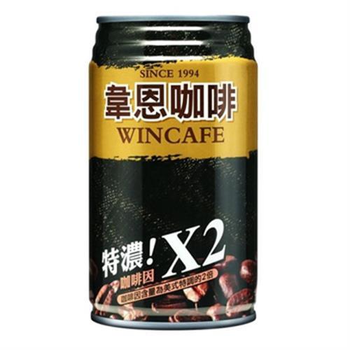 韋恩 特濃咖啡(320ml*6罐/組)