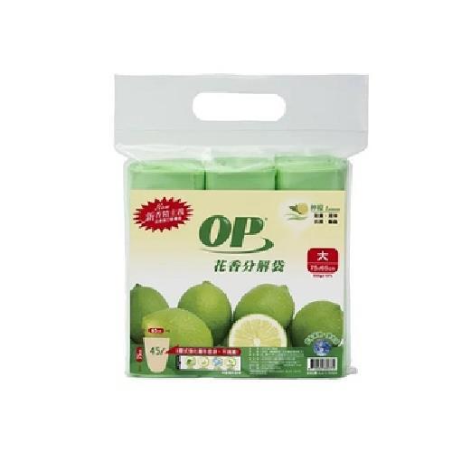 OP 花香清潔袋-檸檬香/大(500g±10%)