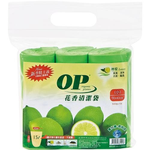 OP 花香清潔袋-檸檬香/小(500g±10%)