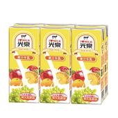 《光泉》牛乳-果汁(200ml*6包/組)