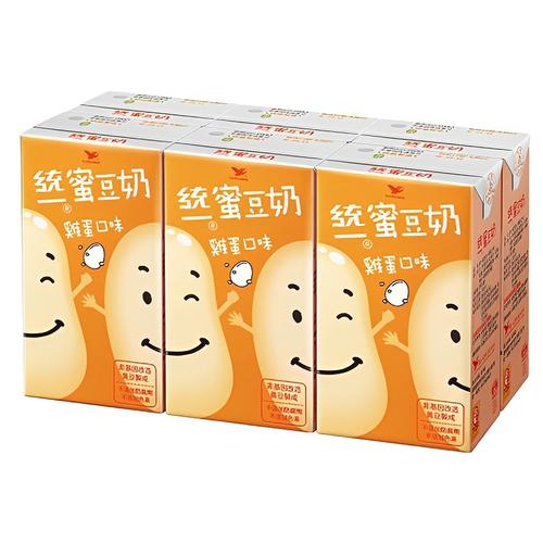 統一 蜜豆奶-雞蛋(250ml*6包)