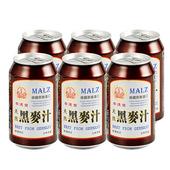 《崇德發》天然黑麥汁330ml*6罐/組