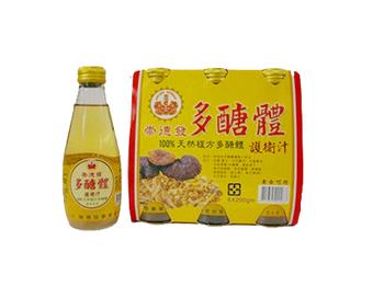 崇德發 多醣體護衛汁(200cc*6瓶/組)