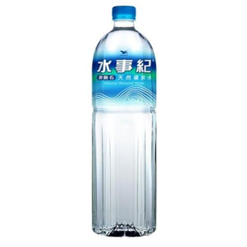 水事紀 麥飯石礦泉水(1500cc)
