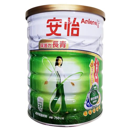 安怡 長青高鈣奶粉-超微鈣(750g/罐)