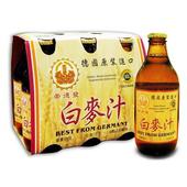 《崇德發》白麥汁(330cc*6瓶/組)