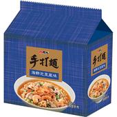 《維力》手打麵-海鮮泡菜(80gx5包/組)