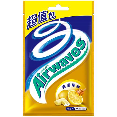 Airwaves 口香糖超值包-蜂蜜檸檬(62公克/袋)