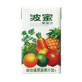 《波蜜》果菜汁250ml*24包/箱
