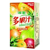 《波蜜》多果汁(250ml*24包/箱)