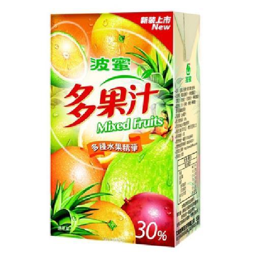 波蜜 多果汁(250ml*24包/箱)