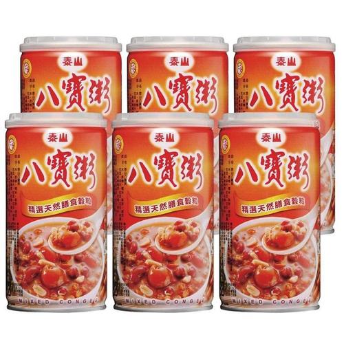 《泰山》八寶粥(375*6罐/組)
