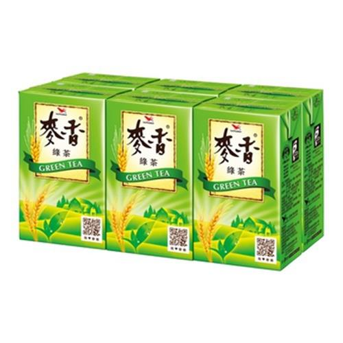 統一 麥香大麥綠茶(250ml*6包/組)