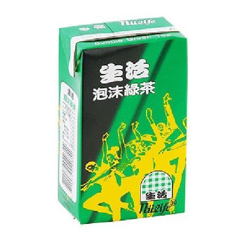 《生活》泡沬綠茶(250ml*24包/箱)
