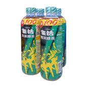 《生活》泡沬綠茶(590ml*4瓶/組)