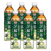 《愛之味》健康的油切分解茶(無糖)(590ml*6瓶/組)