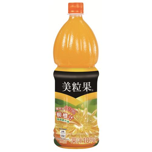 美粒果 柳橙汁(1250ml/瓶)