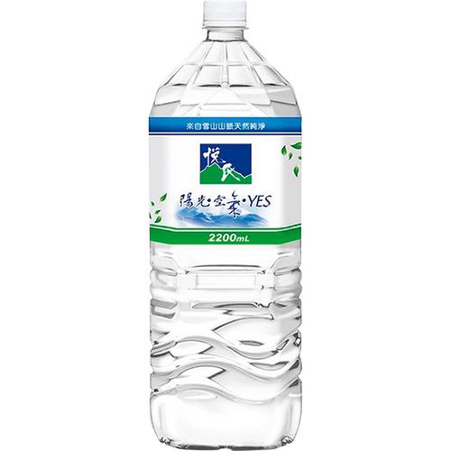 悅氏 礦泉水(2200ml/瓶)