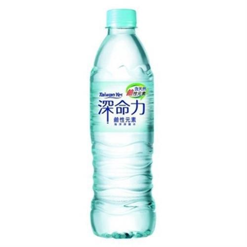 Taiwan Yes 深命力100%海洋深層水(600ml*6瓶/組)