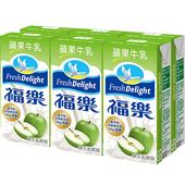 《福樂》蘋果牛乳(200ml*6包/組)
