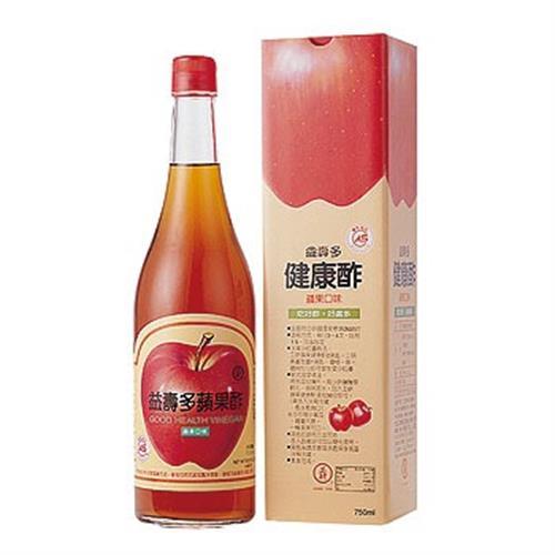 工研 益壽多蘋果健康酢(大)(750ml/瓶)