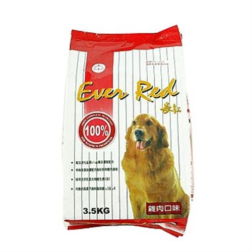 《長紅》狗乾糧-雞肉(3.5kg/包)
