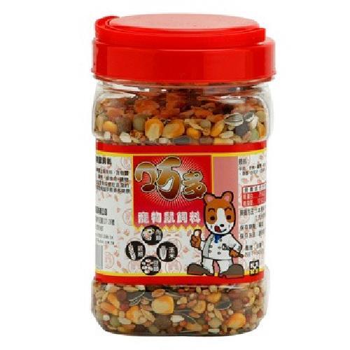 巧多 寵物鼠飼料(600g/罐)