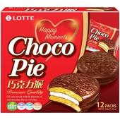 《LOTTE》樂天巧克力派336g/包