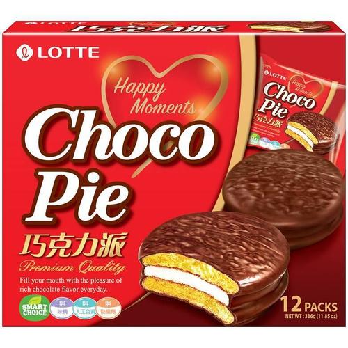 LOTTE 樂天巧克力派(336g/包)