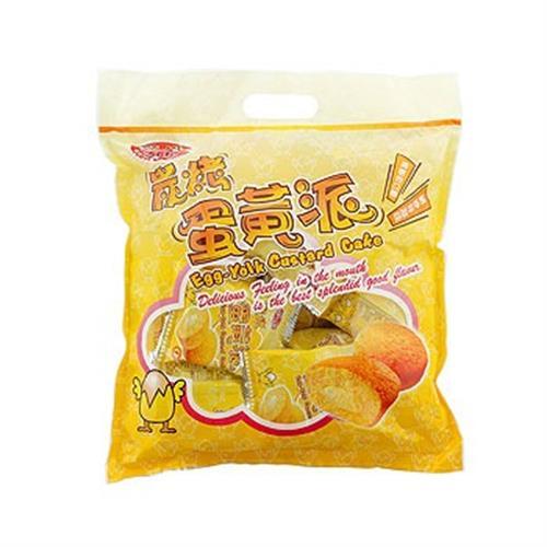 野川 炭烤蛋黃派(19g*15包/袋)