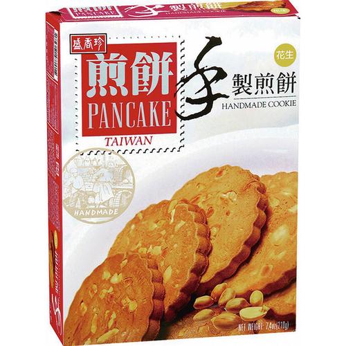 盛香珍 手製煎餅花生口味(210g/盒)