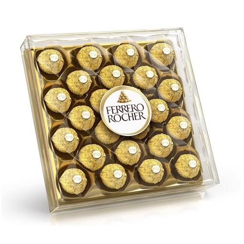 費列羅 意大利金莎巧克力金鑽禮盒24粒(300g/盒)