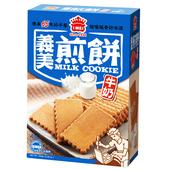 《義美》煎餅量販盒-牛奶(231g/盒)