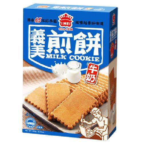 義美 煎餅量販盒-牛奶(231g/盒)