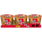 《統一》阿Q桶麵 - 紅椒牛肉風味(101gx3桶/組)