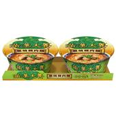 《統一》滿漢大餐蔥燒豬肉麵(193g*2碗/組)