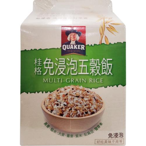 桂格 免浸泡五穀飯(1800g/盒)
